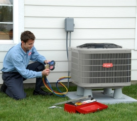 Central air conditioning installation in Peterborough
