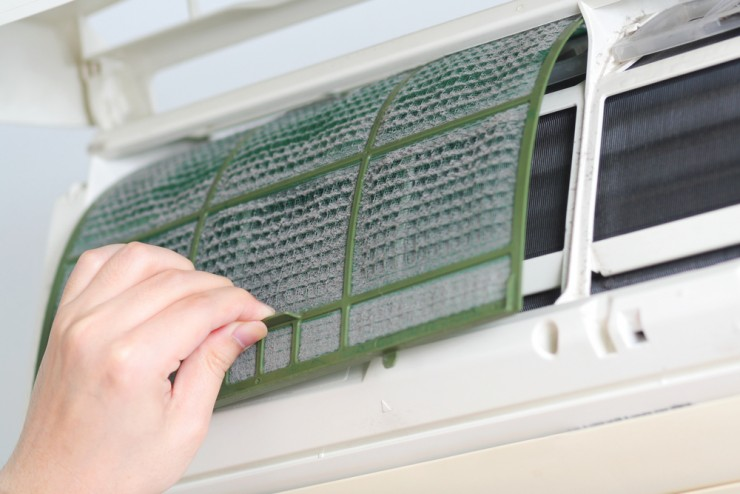 Cleaning your Central AC